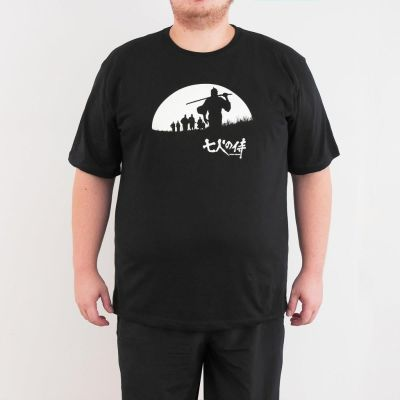 Bant Giyim - Seven Samurai 4XL Siyah T-shirt
