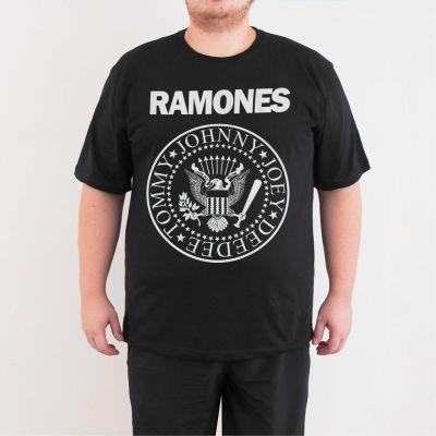 Bant Giyim - Ramones Punk 4XL Siyah T-shirt
