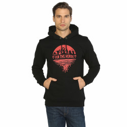 Bant Giyim - Bant Giyim - WOW Horde Siyah Hoodie