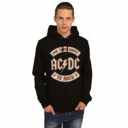 Bant Giyim - Bant Giyim - AC/DC Siyah Hoodie