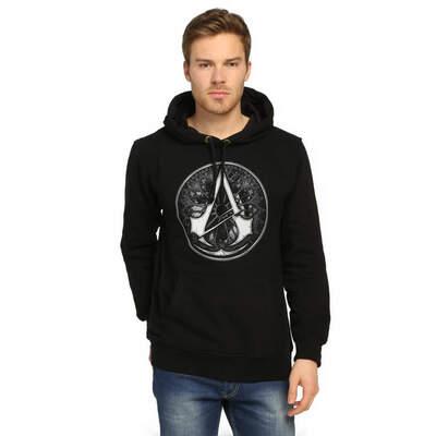 Bant Giyim - Bant Giyim - Assassin's Creed Siyah Hoodie