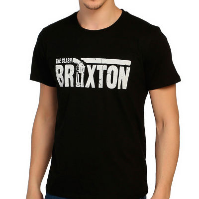 Bant Giyim - Clash Guns Of Brixton Siyah T-shirt