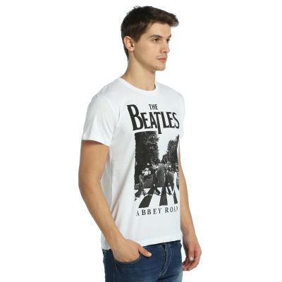 Bant Giyim - Beatles Beyaz T-shirt