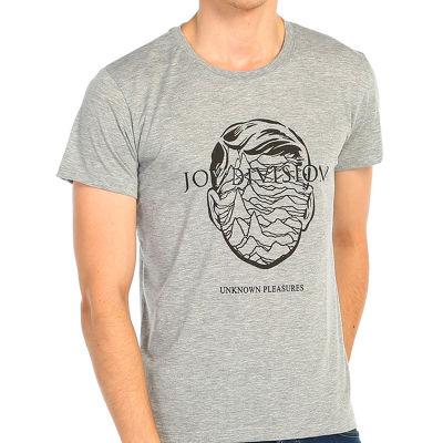 Bant Giyim - Joy Division Gri T-shirt