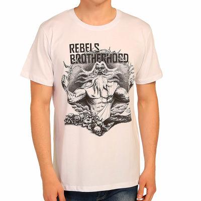 Bant Giyim - Zeus Beyaz T-shirt