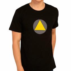 Bant Giyim - Bant Giyim - Legion Triangle X-Men Siyah T-shirt