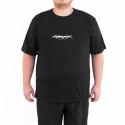 Bant Giyim Cyberpunk 2077 Samurai 4XL Siyah Erkek T-shirt Tişört - Thumbnail