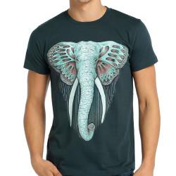 Bant Giyim - Bant Giyim - Elephant Fil Füme Erkek T-shirt