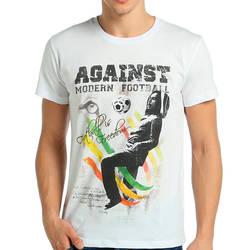 Bant Giyim - Bant Giyim - Bob Marley Beyaz Erkek T-shirt Tişört