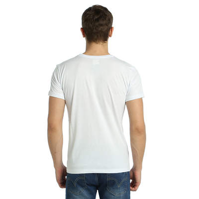 Bant Giyim - Bob Marley Beyaz Erkek T-shirt Tişört