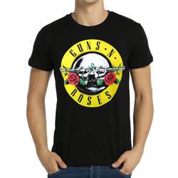 Bant Giyim - Bant Giyim - Guns N′ Roses Siyah Erkek T-shirt Tişört