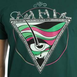 Bant Giyim - Piramit Yeşil Erkek T-shirt Tişört - Thumbnail