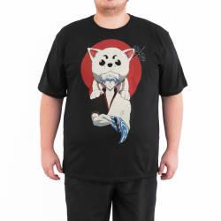 Bant Giyim - Gintama Siyah 4XL T-shirt - Thumbnail