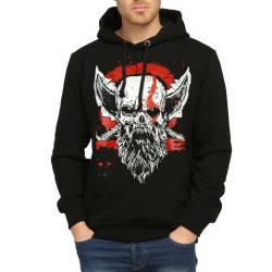 Bant Giyim - Bant Giyim - God Of War Siyah Hoodie