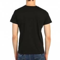Bant Giyim - Iron Maiden Powerslave Siyah Erkek Tişört - Thumbnail