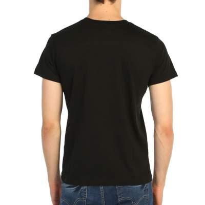Bant Giyim - Iron Maiden Powerslave Siyah Erkek Tişört