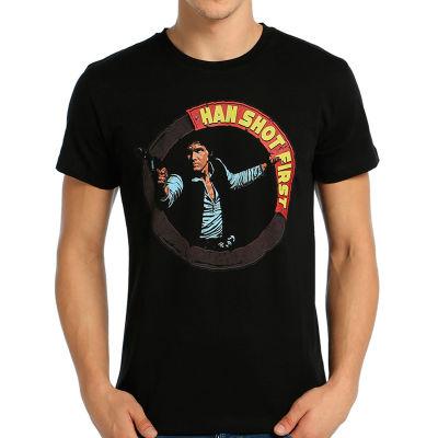 Bant Giyim - Star Wars Han Solo Siyah T-shirt