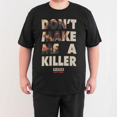Bant Giyim - Bant Giyim - Tokyo Ghoul 4XL Siyah T-shirt
