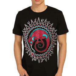 Bant Giyim - Avcının Sevdası Bukalemun Siyah T-shirt - Thumbnail