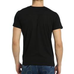 Bant Giyim - NASA Siyah T-shirt - Thumbnail