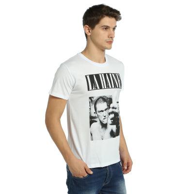 Bant Giyim - La Haine Beyaz T-shirt