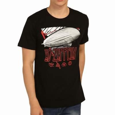 Bant Giyim - Led Zeppelin Mothership Siyah Erkek Tişört