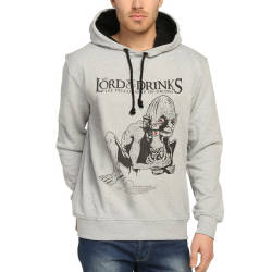 Bant Giyim - Lord Of The Rings Gri Hoodie - Thumbnail