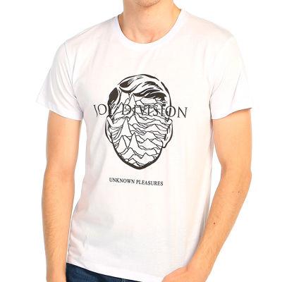 Bant Giyim - Joy Division Beyaz T-shirt