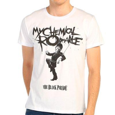 Bant Giyim - My Chemical Romance Beyaz T-shirt