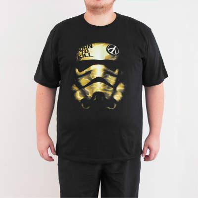 Bant Giyim - Star Wars Trooper 4XL Siyah T-shirt