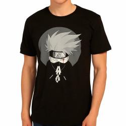 Bant Giyim - Bant Giyim - Naruto Kakashi Siyah T-shirt
