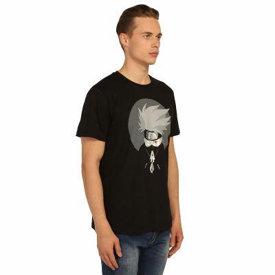 Bant Giyim - Naruto Kakashi Siyah T-shirt