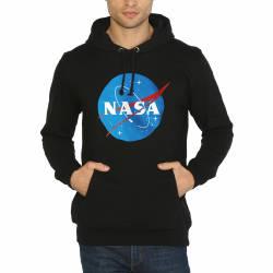 Bant Giyim - Bant Giyim - NASA Siyah Hoodie