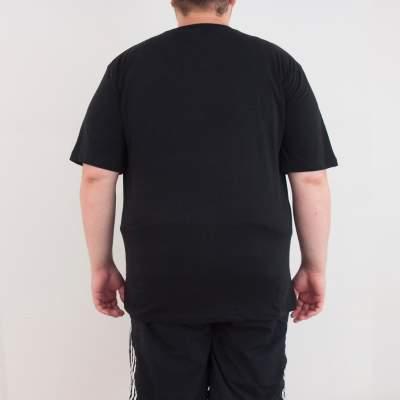 Bant Giyim - Rick and Morty Einstein 4XL Siyah T-shirt
