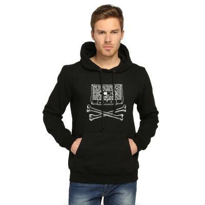 Bant Giyim - 90'lar Alternative Siyah Hoodie