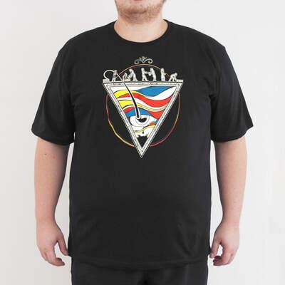 Bant Giyim - Bant Giyim - Piramit 4XL Siyah T-Shirt