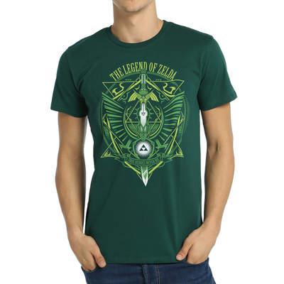 Bant Giyim - Legend Of Zelda Yeşil T-shirt