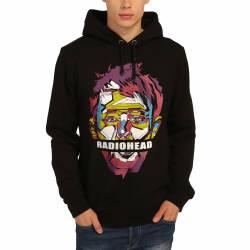 Bant Giyim - Bant Giyim - Radiohead Siyah Hoodie