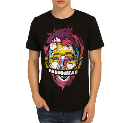 Bant Giyim - Radiohead Siyah T-shirt