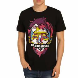 Bant Giyim - Radiohead Siyah T-shirt - Thumbnail