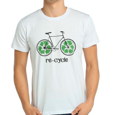 Bant Giyim - Re - Cycle Beyaz T-shirt