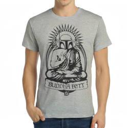Bant Giyim - Bant Giyim - Star Wars Buda Boba Fett Gri T-shirt