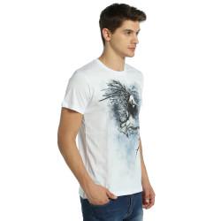 Bant Giyim - Root n' Smoke Beyaz T-shirt - Thumbnail