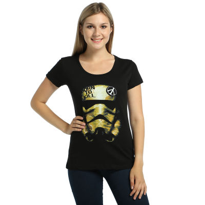Bant Giyim - Star Wars Trooper Kadın Siyah T-shirt