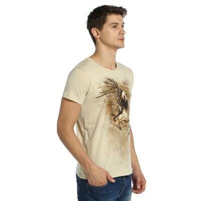Bant Giyim - Root n' Smoke Krem T-shirt