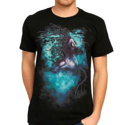 Bant Giyim - Bant Giyim - Root n′ Smoke Siyah Erkek T-shirt