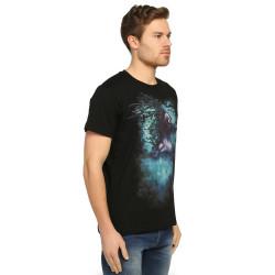 Bant Giyim - Root n' Smoke Siyah T-shirt - Thumbnail