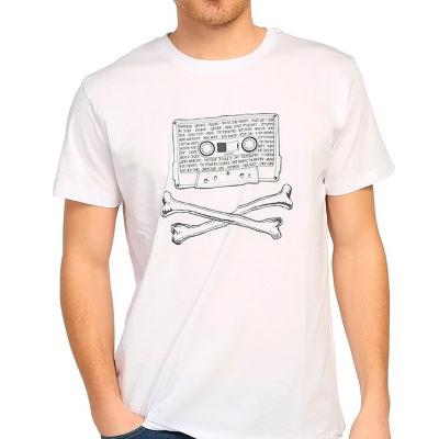Bant Giyim - 90'lar Alternatif Rock Beyaz T-shirt