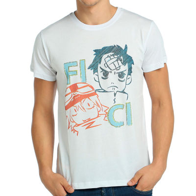 Bant Giyim - FLCL Fuli Culi Beyaz T-shirt