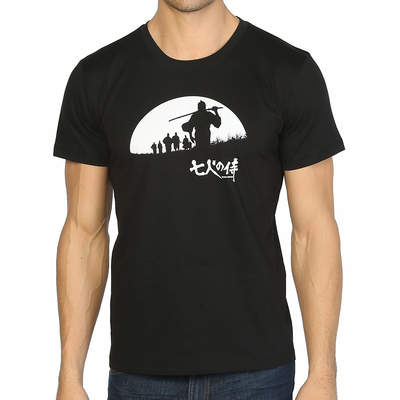 Bant Giyim - Seven Samurai Siyah T-shirt